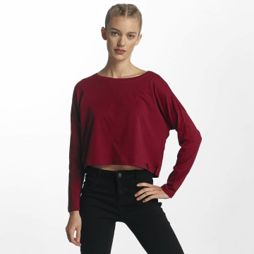 Cyprime T-Shirt manches longues Actinium rouge