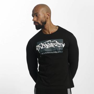 Dangerous DNGRS Camiseta de manga larga Topping negro