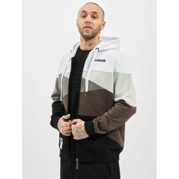 Dangerous DNGRS Hoodies con zip Limited Edition II bianco