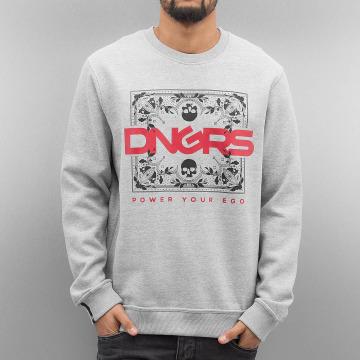 Dangerous DNGRS Jumper Egopulli grey