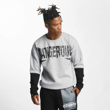 Dangerous DNGRS Jumper Methal grey
