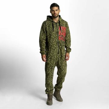 Dangerous DNGRS jumpsuit Floot camouflage