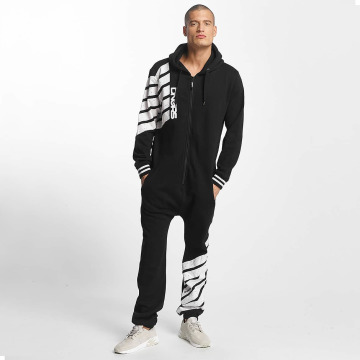 Dangerous DNGRS Jumpsuits Statement svart