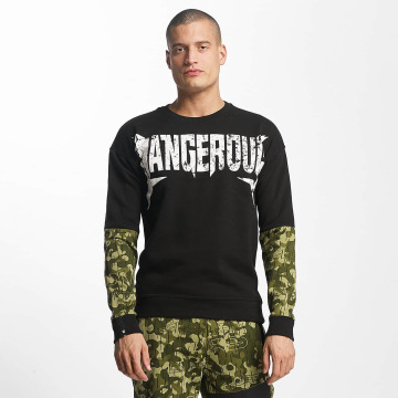Dangerous DNGRS Pullover Methal schwarz