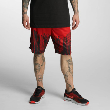 Dangerous DNGRS shorts Rainy rood