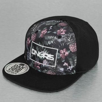Dangerous DNGRS Snapback Cap Flower black