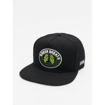 Dangerous DNGRS Snapback Cap Green Breath black