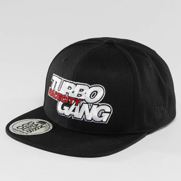 Dangerous DNGRS snapback cap Turbogang Race City zwart