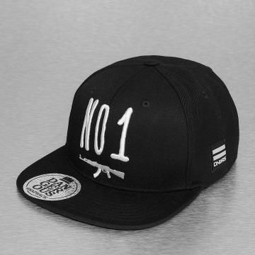 Dangerous DNGRS snapback cap No 1 AK 47 zwart