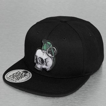 Dangerous DNGRS snapback cap Skull zwart