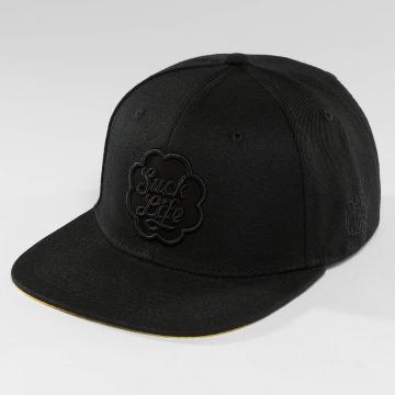 Dangerous DNGRS snapback cap SuckLife zwart