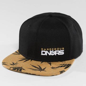 Dangerous DNGRS Snapback Caps Health brazowy