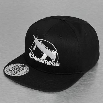 Dangerous DNGRS Snapback Caps Uzi czarny