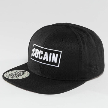 Dangerous DNGRS Snapback Caps Cocain musta
