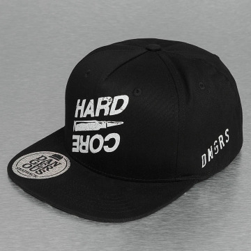 Dangerous DNGRS Snapback Caps Hard Core musta