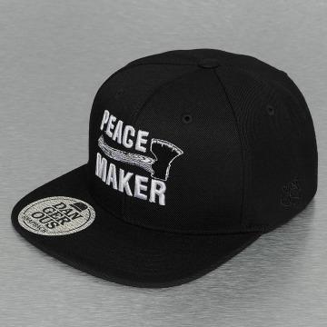 Dangerous DNGRS Snapback Caps Peacemaker musta