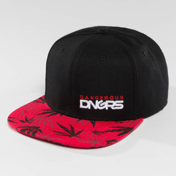 Dangerous DNGRS Snapback Caps Health punainen