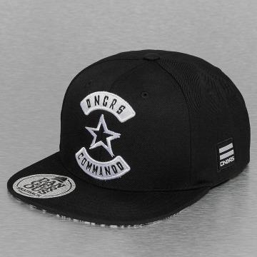 Dangerous DNGRS Snapback Caps Commando svart