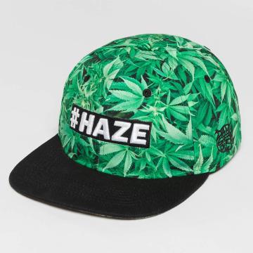 Dangerous DNGRS Snapback Caps Haze zelený
