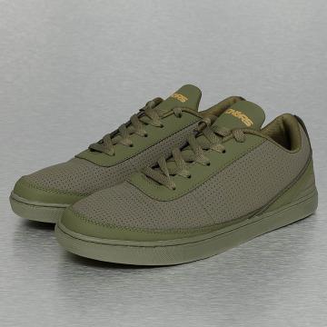 Dangerous DNGRS sneaker Perforated olijfgroen