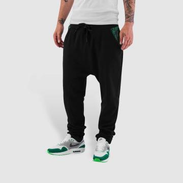 Dangerous DNGRS Spodnie do joggingu Weed czarny