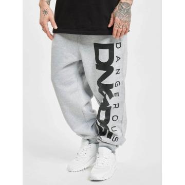 Dangerous DNGRS Spodnie do joggingu Classic szary