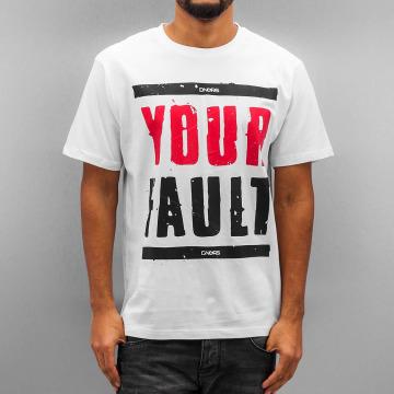 Dangerous DNGRS T-paidat Your Fault valkoinen