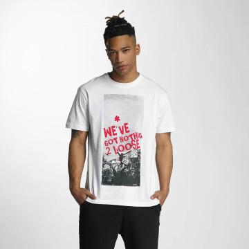 Dangerous DNGRS T-shirt Nothing 2 Loose *B-Ware* bianco