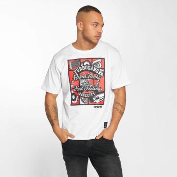 Dangerous DNGRS T-Shirt Race City Carparts blanc