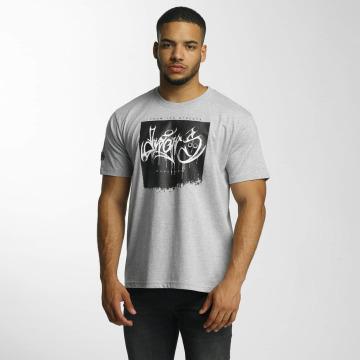 Dangerous DNGRS t-shirt From The Streets Throw Up grijs