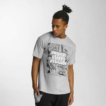 Dangerous DNGRS t-shirt Original Street Attiude grijs