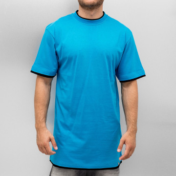 Dangerous DNGRS T-shirt longoversize Two Tone turquoise