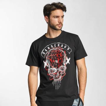 Dangerous DNGRS T-Shirt Skull noir