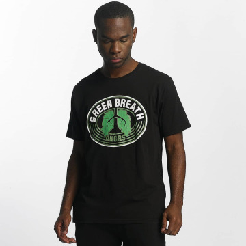Dangerous DNGRS T-Shirt Green Breath noir