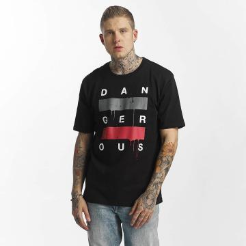 Dangerous DNGRS T-Shirt  Uncaged T-Shirt Black...