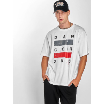 Dangerous DNGRS T-Shirt  Uncaged T-Shirt White...