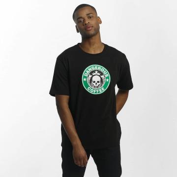Dangerous DNGRS t-shirt Coffee zwart