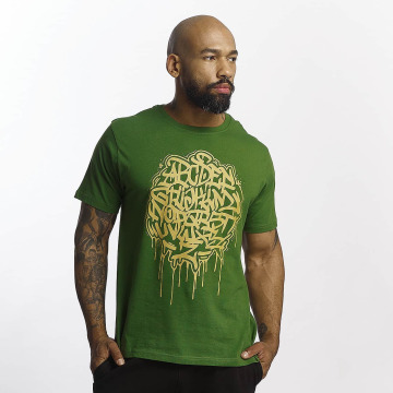 Dangerous DNGRS T-skjorter Alpha DMARK grøn