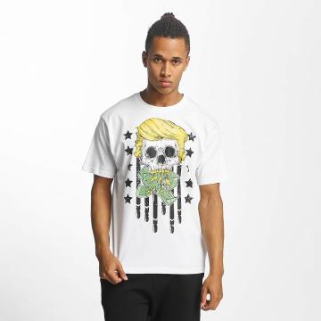 Dangerous DNGRS T-skjorter Don Bomb hvit