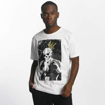 Dangerous DNGRS T-skjorter Boxskull hvit