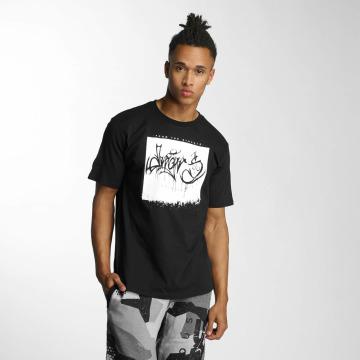 Dangerous DNGRS T-skjorter From The Streets Throw Up svart