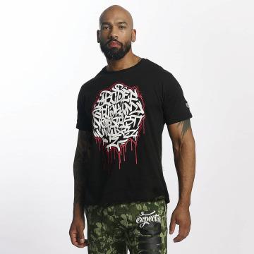 Dangerous DNGRS T-skjorter Alpha DMARK svart