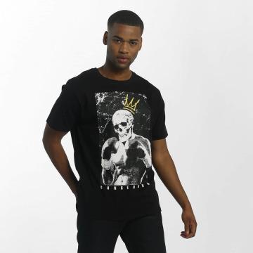 Dangerous DNGRS T-skjorter Boxskull svart
