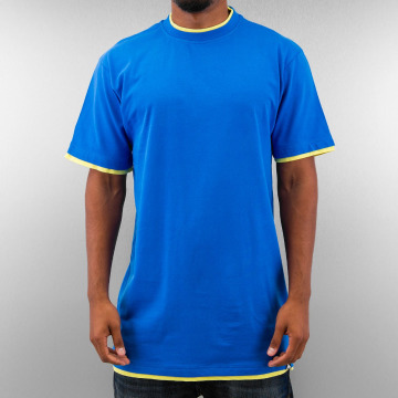 Dangerous DNGRS Tall Tees Two Tone blauw