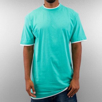 Dangerous DNGRS Tall Tees Two Tone turquois