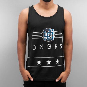 Dangerous DNGRS Tanktop Star zwart