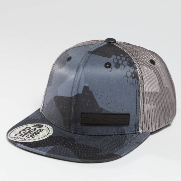 Dangerous DNGRS Trucker Caps Meanie camouflage
