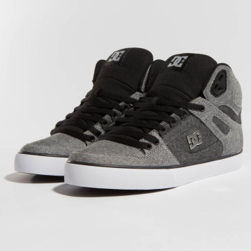 DC Сникеры Pure High-Top TX SE серый
