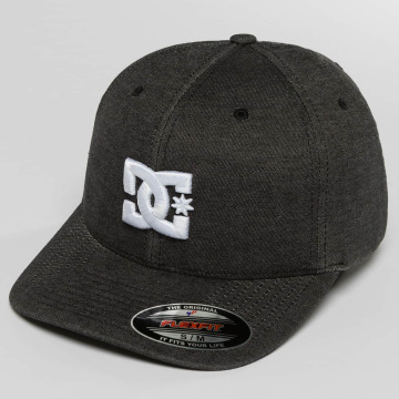 DC Flexfitted-lippikset Capstar musta