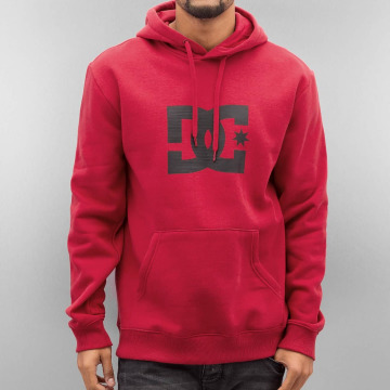 DC Hoodie Star red